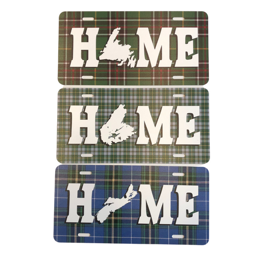 HOME Licence Plates