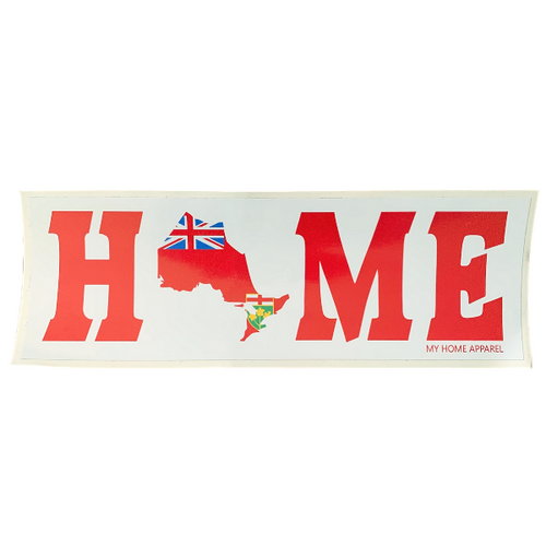 Ontario HOME Bumper Sticker/Decal
