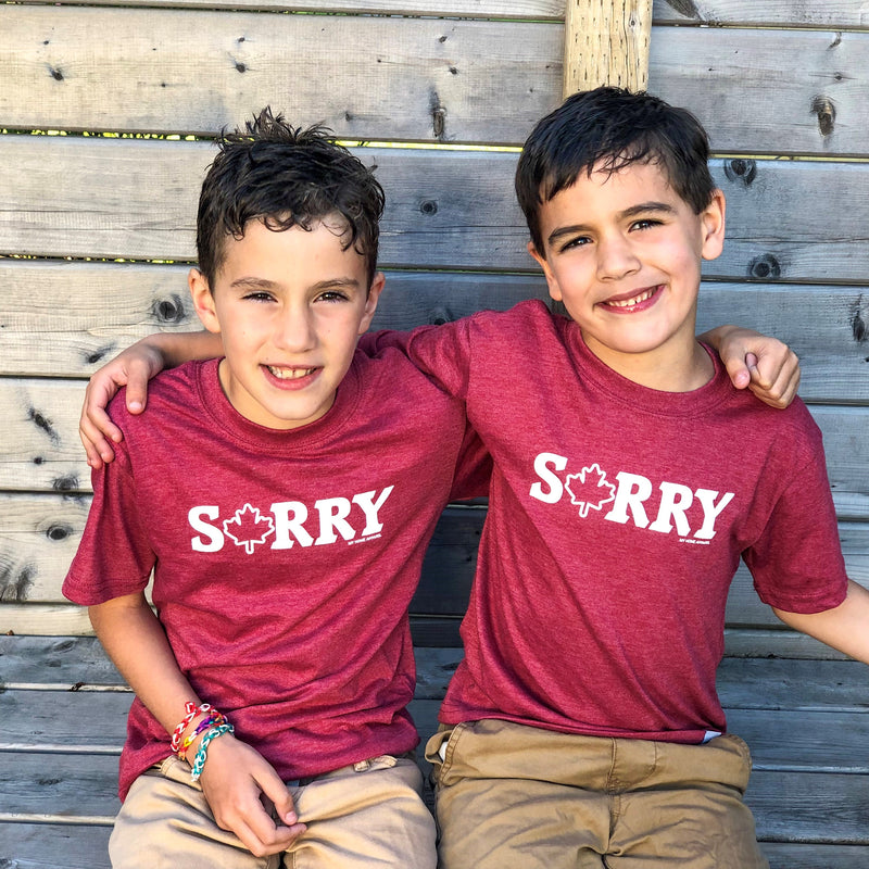 Kid's Sorry T-shirt