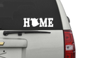 New Brunswick HOME Bumper Sticker/Decal, www.myhomeapparel.com