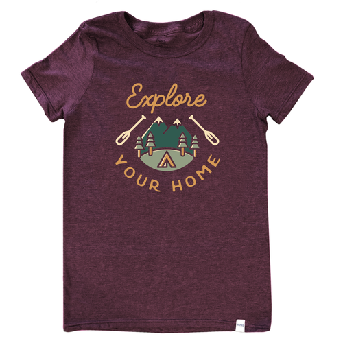 Explore Your Home Unisex T-shirt
