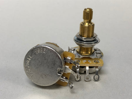 CTS 500k Audio Taper Potentiometer - Long Shaft