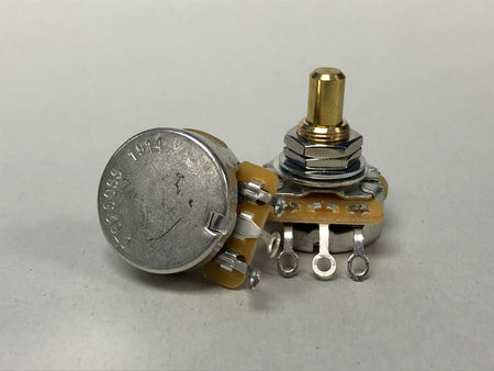 CTS 250K Audio Taper Potentiometer - Solid Shaft