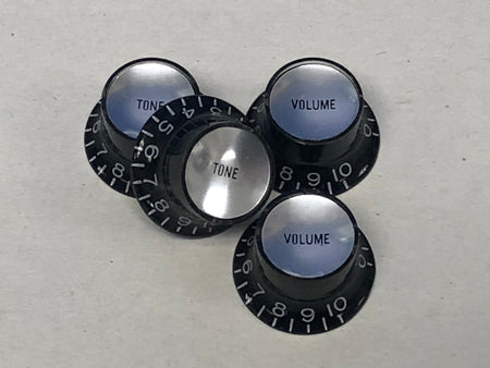 Black Reflector Knobs
