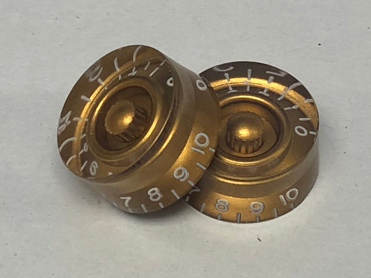 New Gold Speed Knobs - Pair