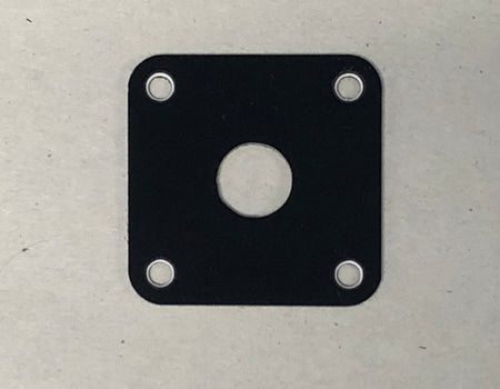 New Black 50s Les Paul Jr.® Type Jack Plate