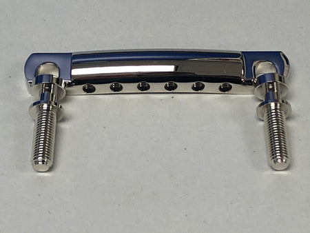 New Lightweight Nickel Tailpiece & Nickel Stud Set