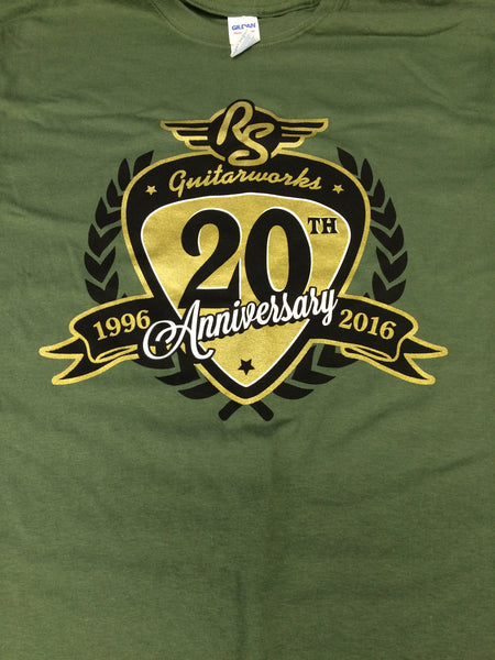 RS Guitarworks 20th Anniversary T-Shirt