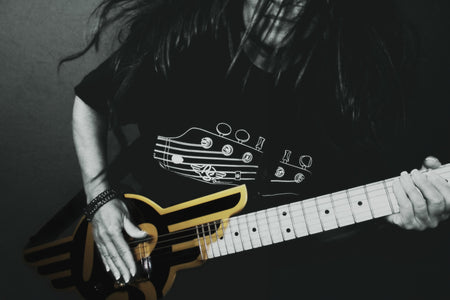 RS Headstock Logo T-Shirt
