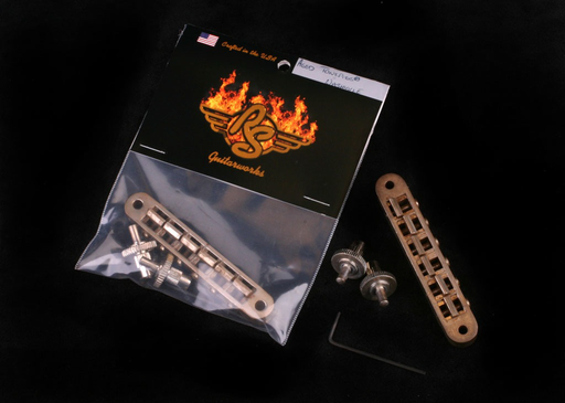Aged Nickel TonePros® Nashville-type Bridge