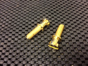 New Gold Vintage Steel Tailpiece Studs