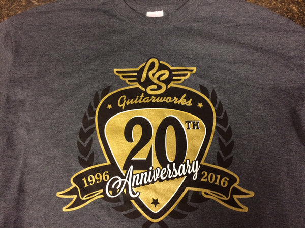 RS Guitarworks 20th Anniversary T-Shirt - Long Sleeve