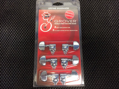Grover Tuners - Chrome