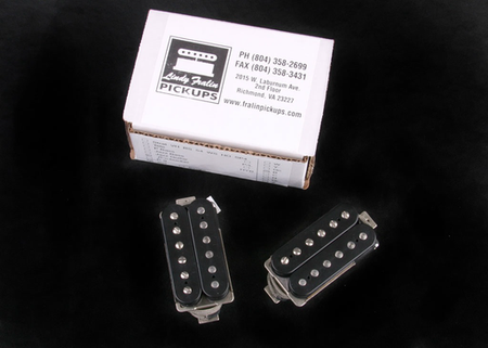 New RS/Fralin Black PAF Pickups