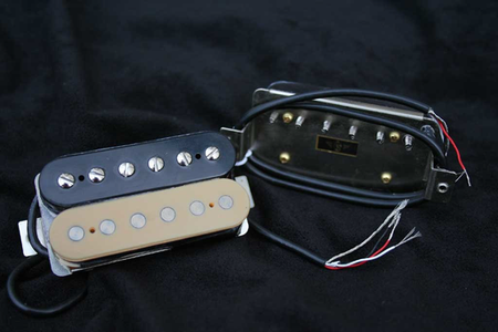 RS/Fralin Big Block Zebra Humbucker Set