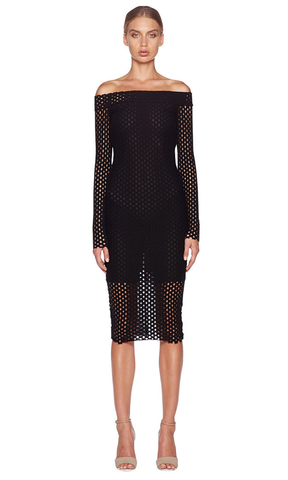 Bec & Bridge Coco Long Sleeve Dress RRP $250