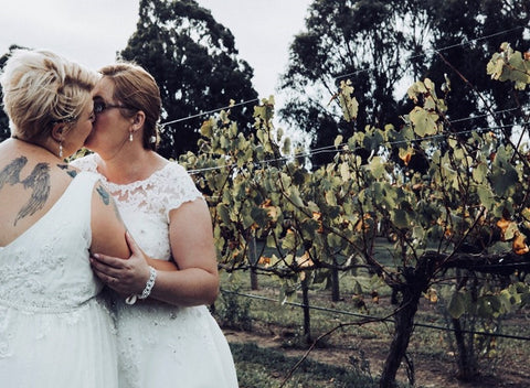 Lesbian couple marry in Australia