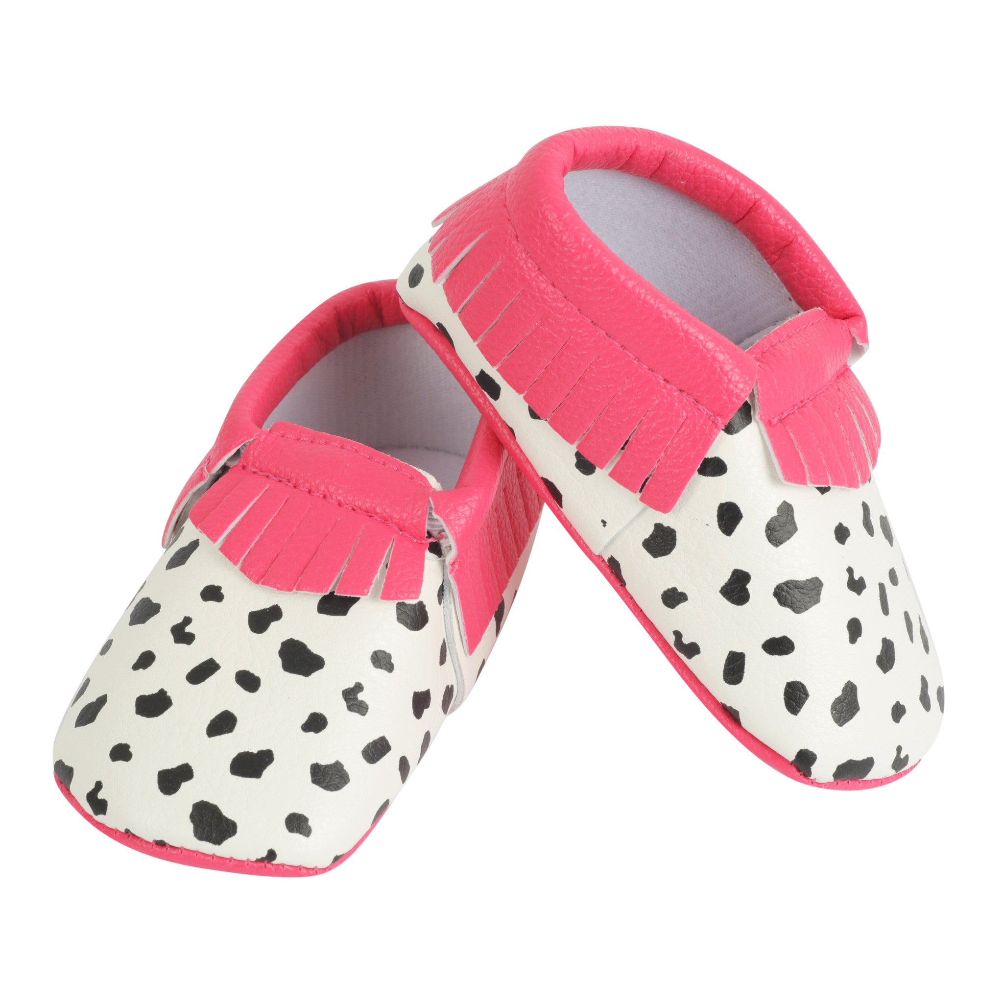 Moccasin, Pre-Walker Baby & Toddler Shoes - Spots