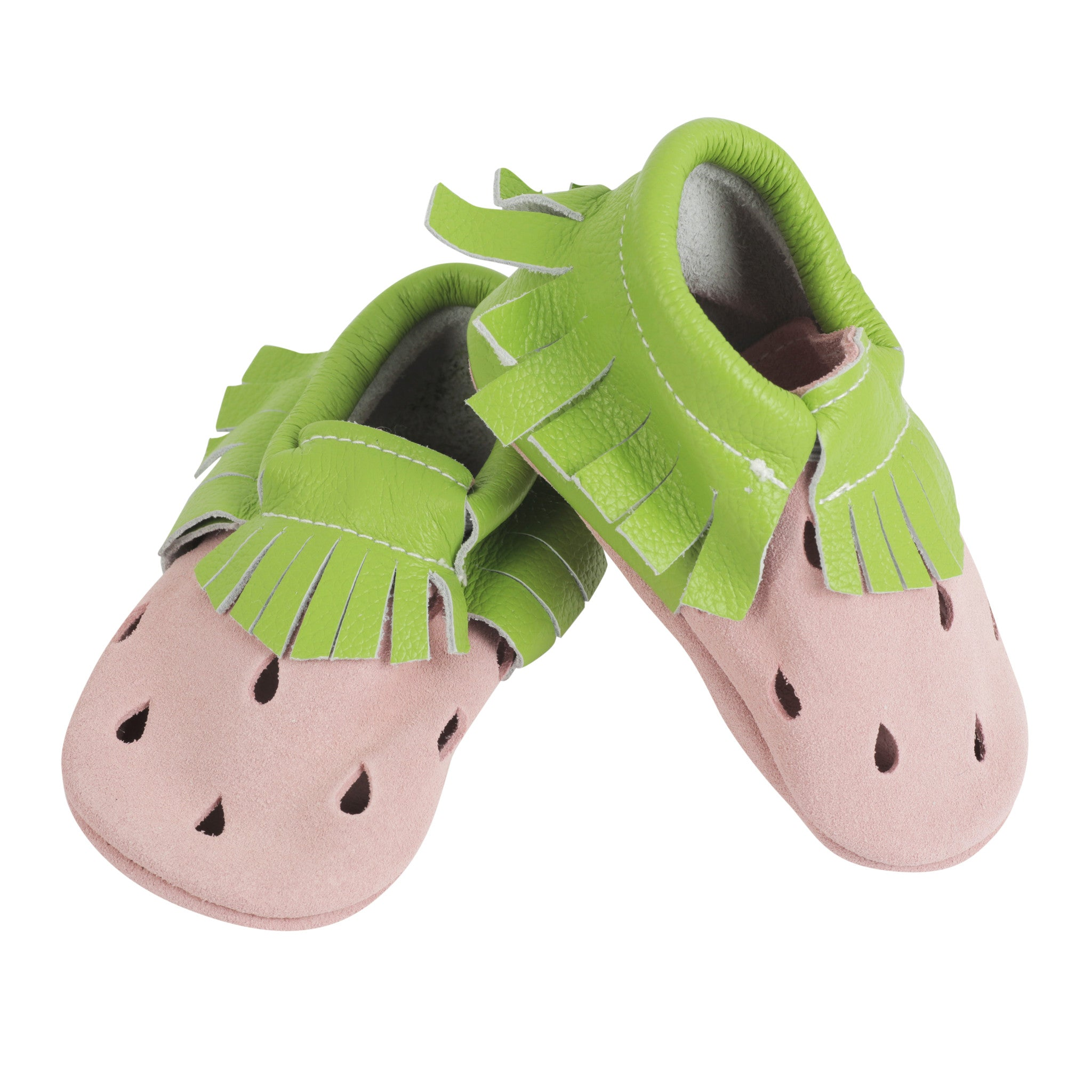 Moccasin, Pre-Walker Baby & Toddler Shoes - Strawberry