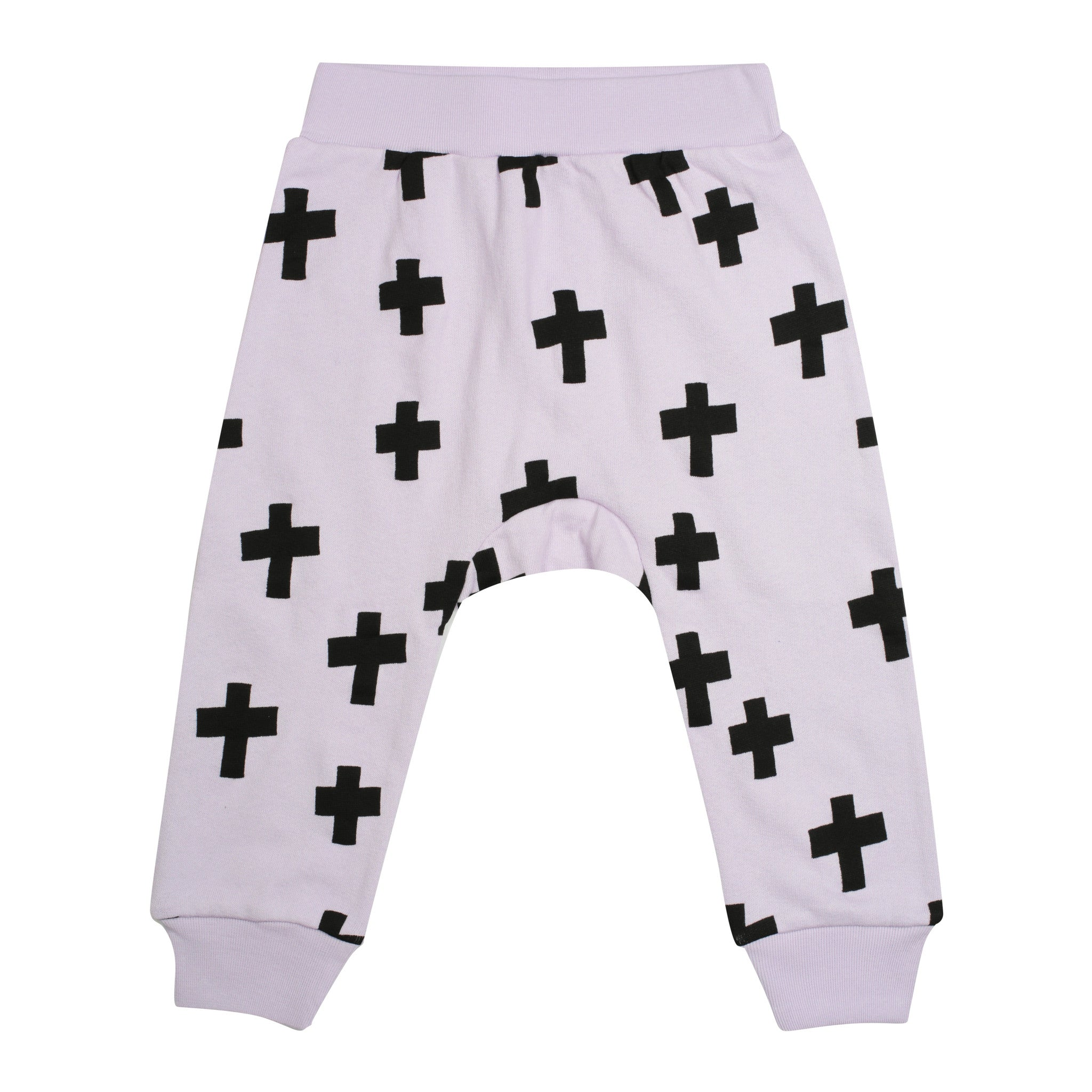 Kris Cross Harem Pants – Purple