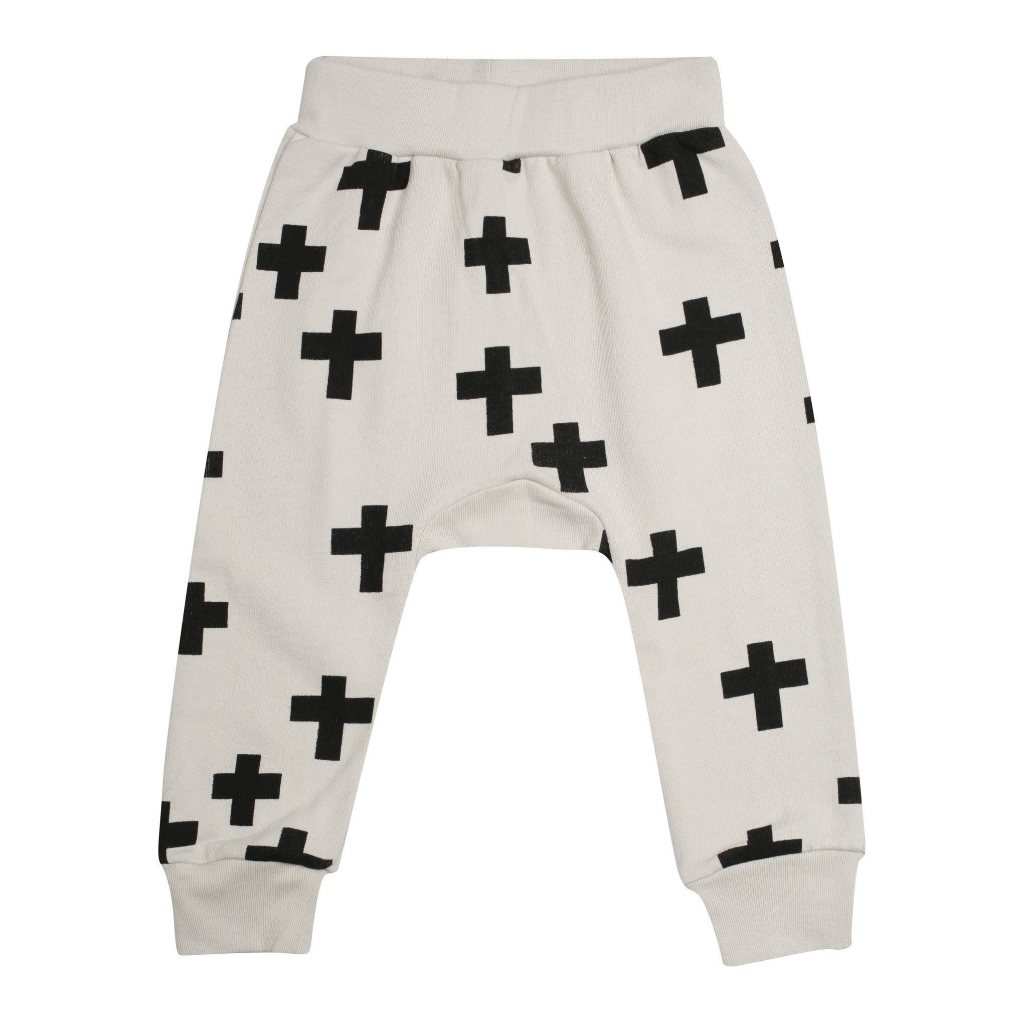 Kris Cross Harem Pants – Bone