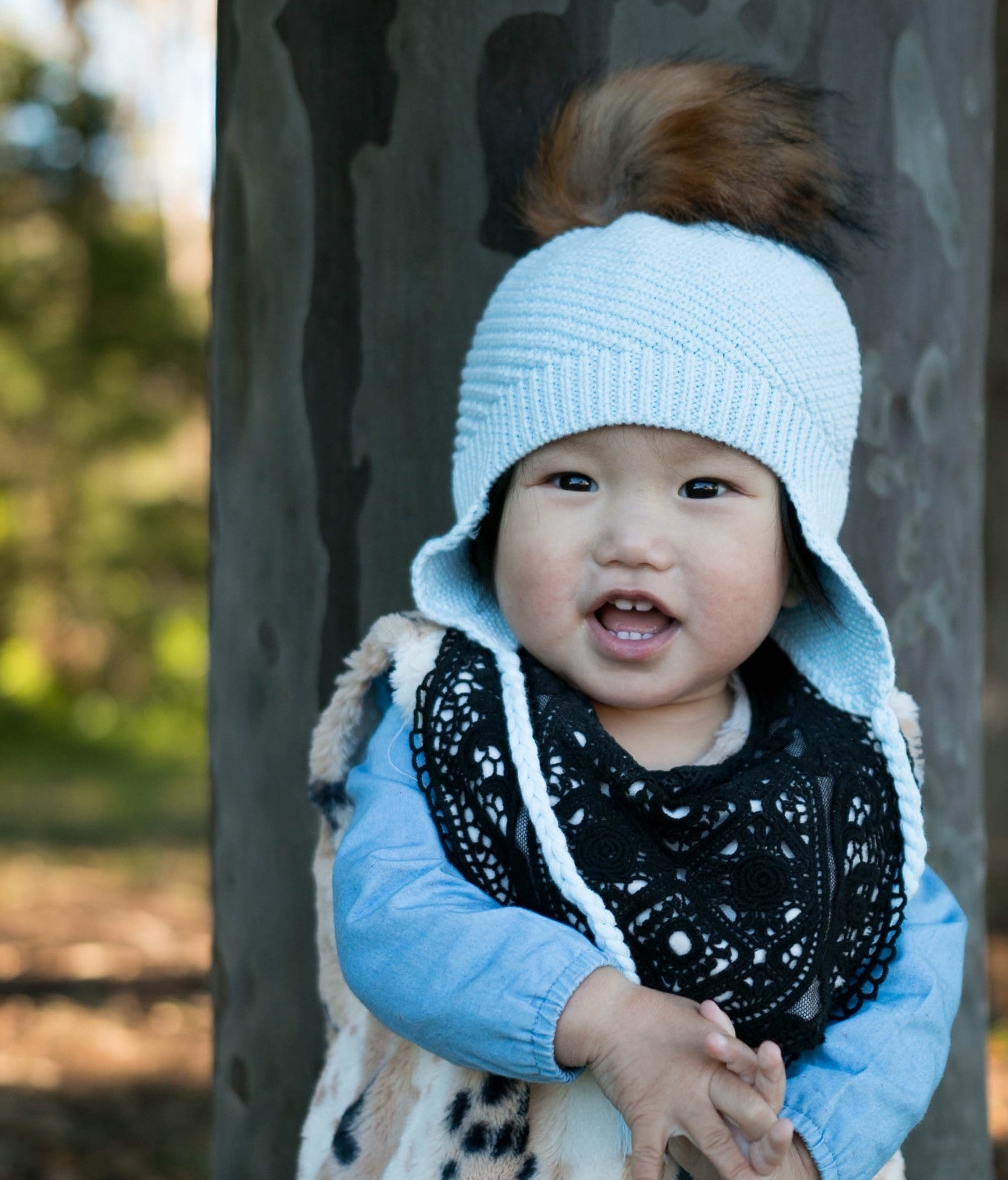 Baby Blue Beanie, 100% Cotton, Made In Australia, Limited Edition