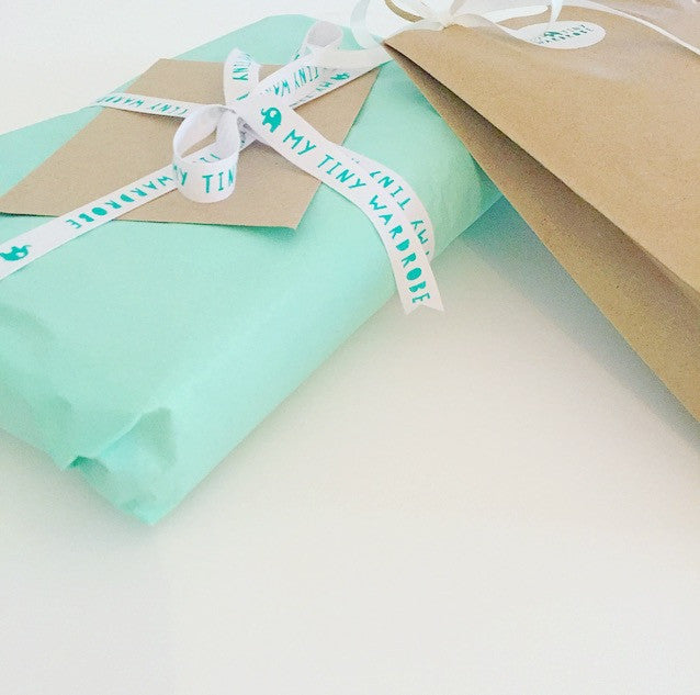 Boutique Kids Clothing Gift Wrapping
