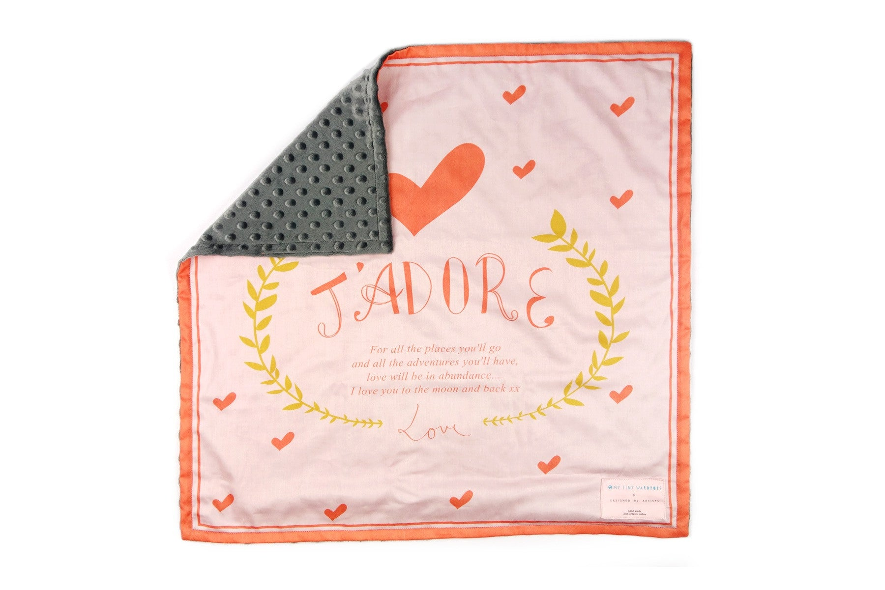 Boutique Baby Blanket - Designer Organic Cotton - Limited Edition