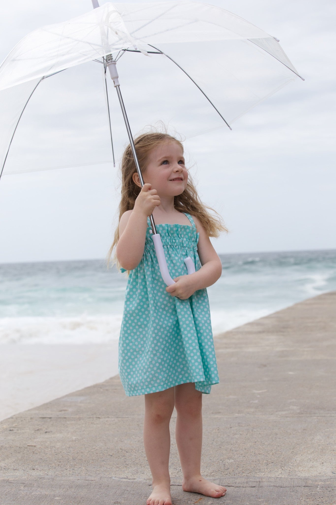 Aqua Toddler Dress - Gorgeous
