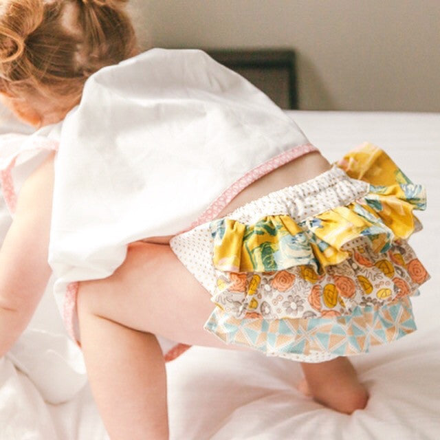 Baby Bloomers, designer Boutique, 100% Cotton, Handmade Limited Edition