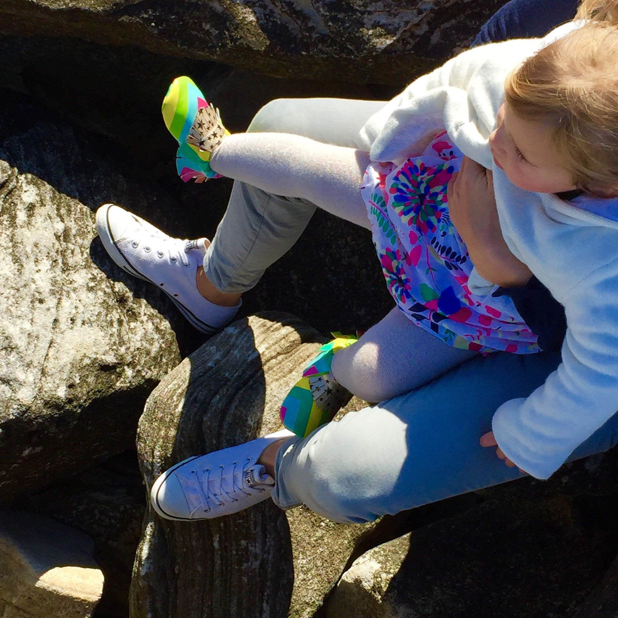 Moccasin, Pre-Walker Baby & Toddler Shoes - Rainbow, Toddler Love