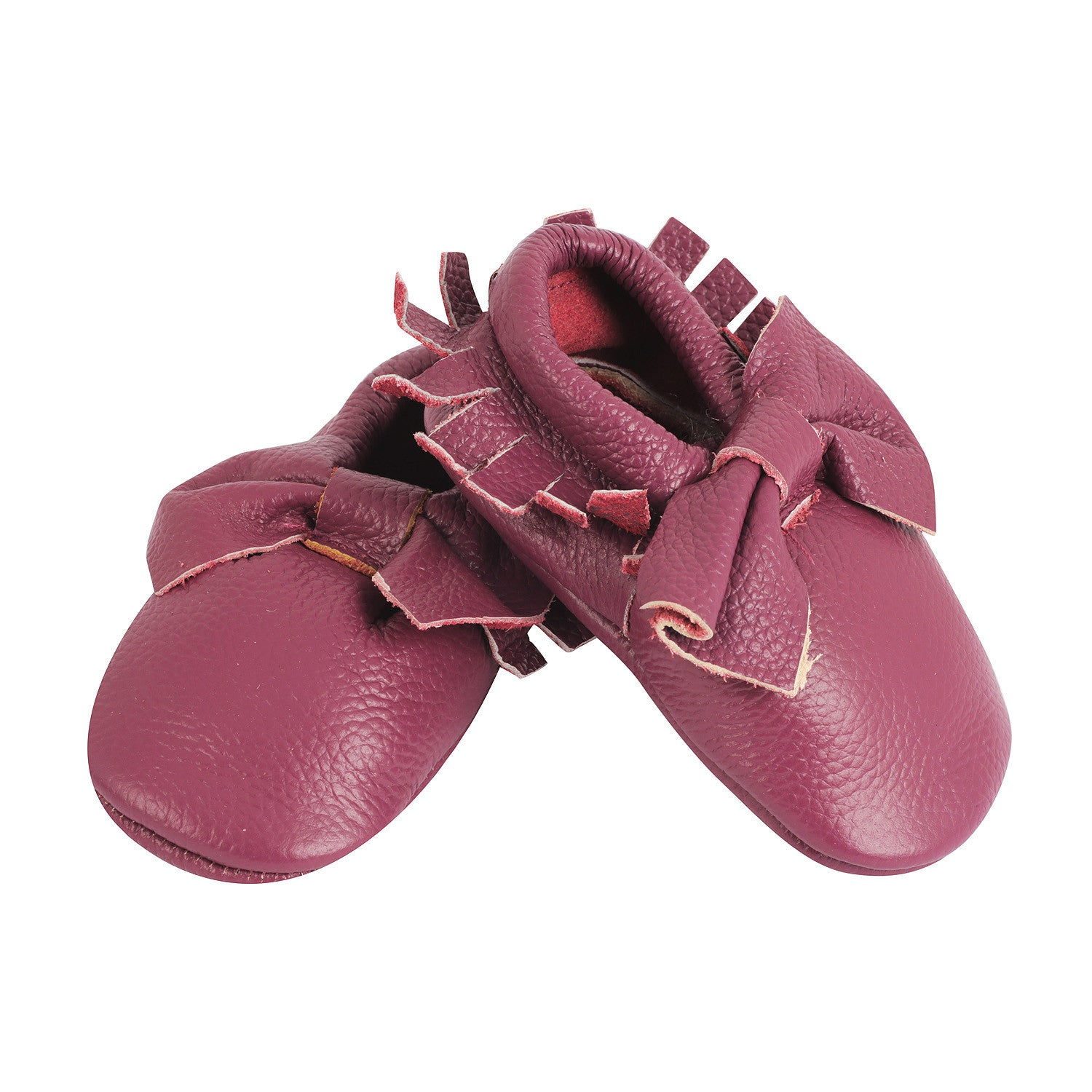 Moccasin, Pre-Walker Baby & Toddler Shoes - Purple