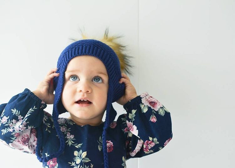 Boy & Girl Baby, Toddler & Adult Knit Beanie - Navy