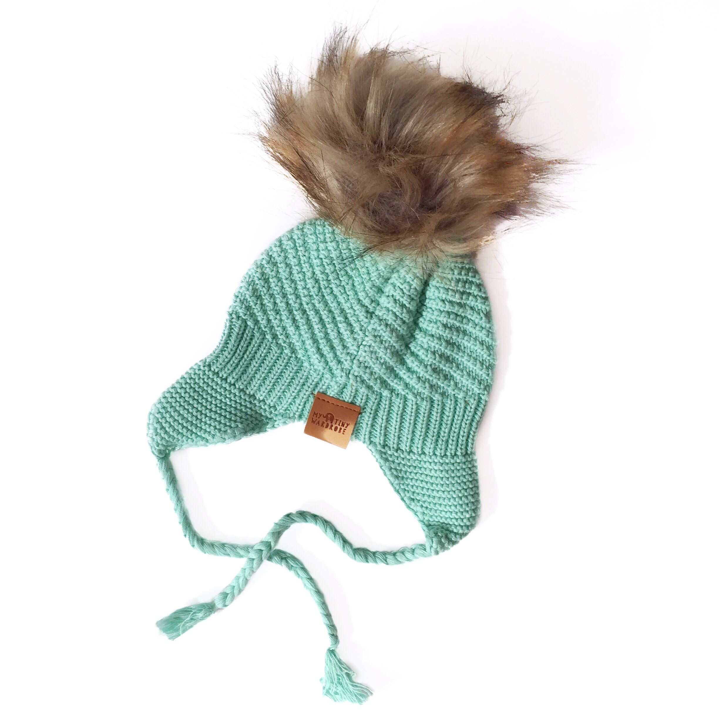 Baby & Toddler Knit Beanie - Mint