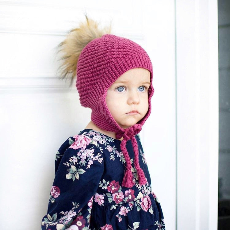 Girls Beanie, Boutique Limited Edition Releasee, 100% Cotton, Made In Australia