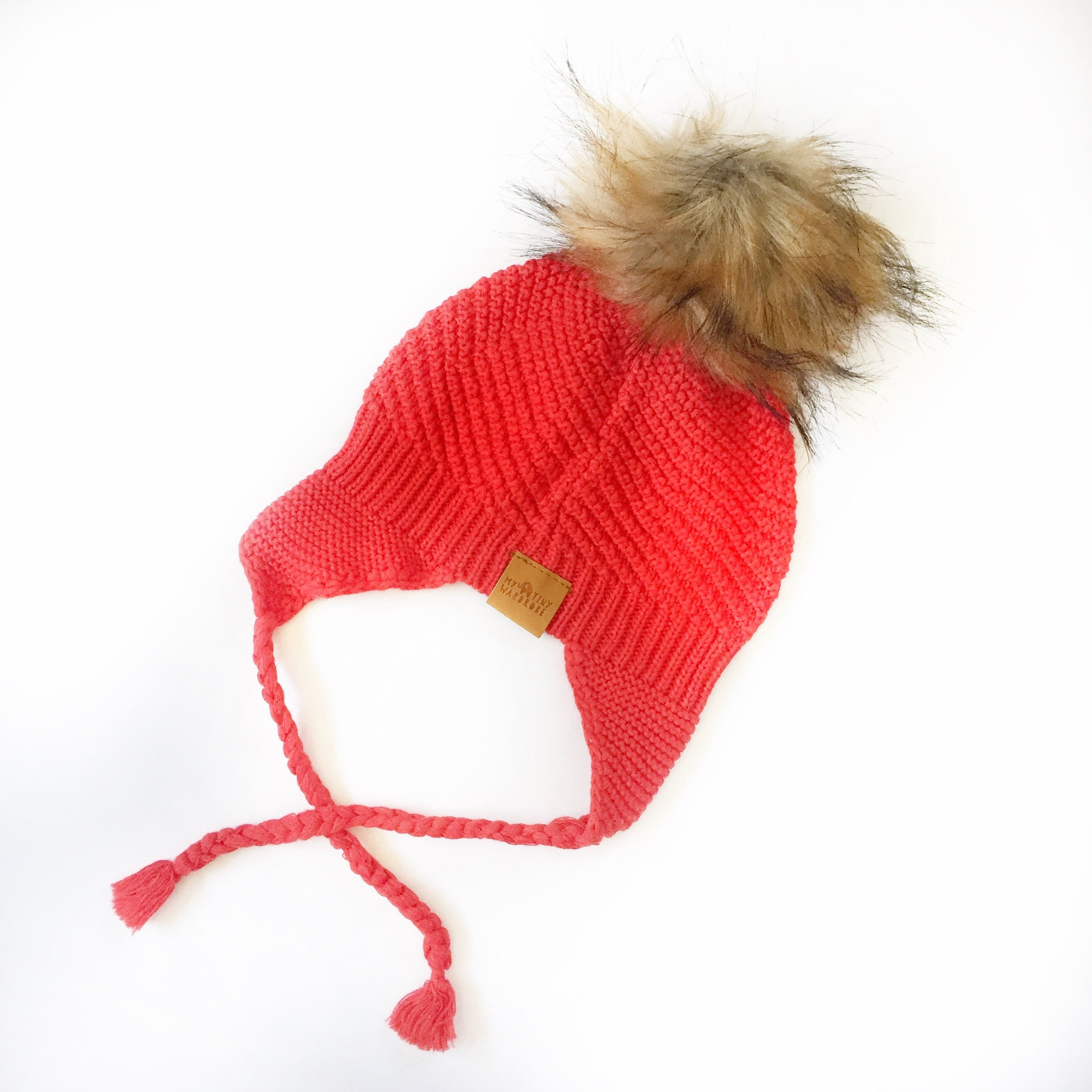 Red Beanie, 100% Cotton, Made in Australia, Limited Edition Boutique Store