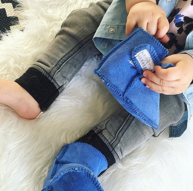 Sheepskin Ugg Boots – Royal Blue