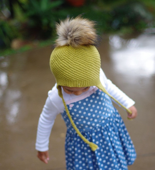 Boy & Girl Baby & Toddler Knit Beanie - Olive