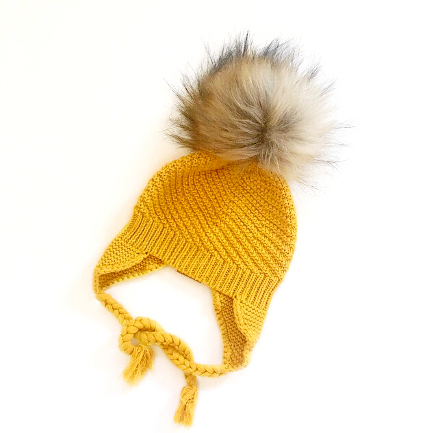 Unisex Beanie, Limited Edition, Mustard Colour, 100% Cotton, Made in Australia