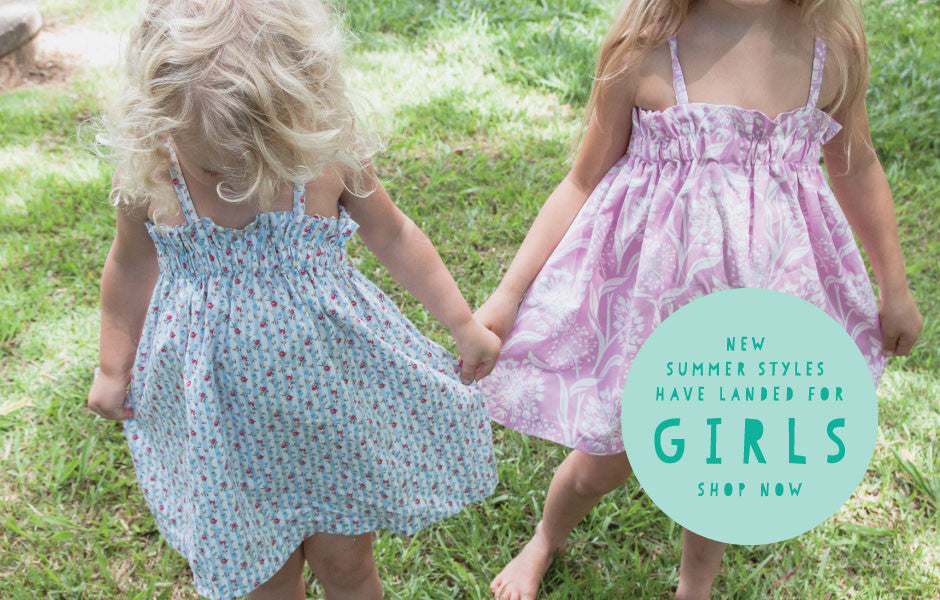New summer styles have landed for girls