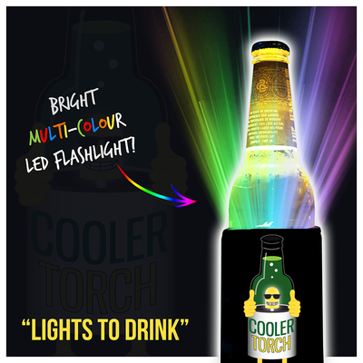 Cooler Torch - Drink Illuminator & Torch