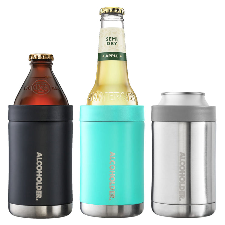 Alcoholder StubZero Stainless Insulated Can & Bottle Cooler