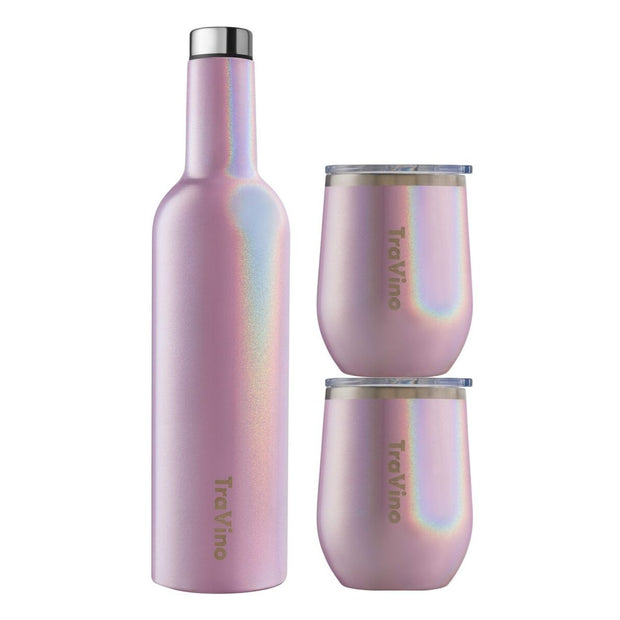 Flask / Stemless set