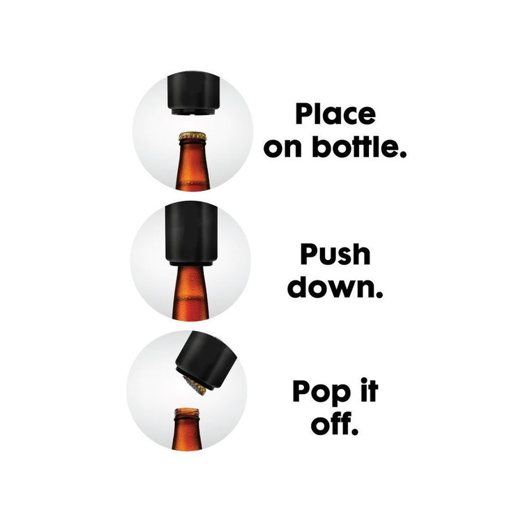 Pop Top Automatic Bottle Opener
