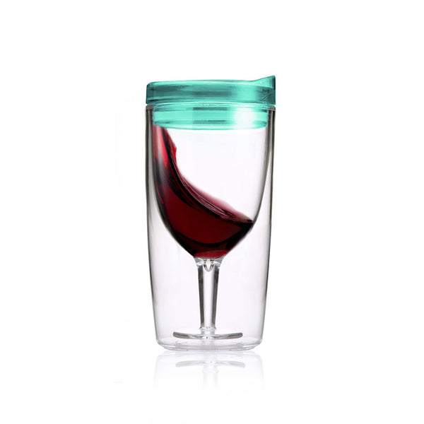 TraVino Wine Sippy Cup - Seafoam Green