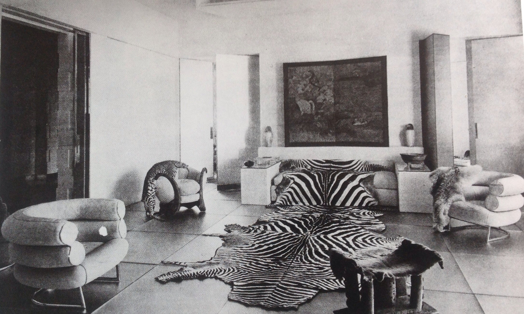 The Glass Salon, Designed By Paul Ruaud, With Furniture By ...
