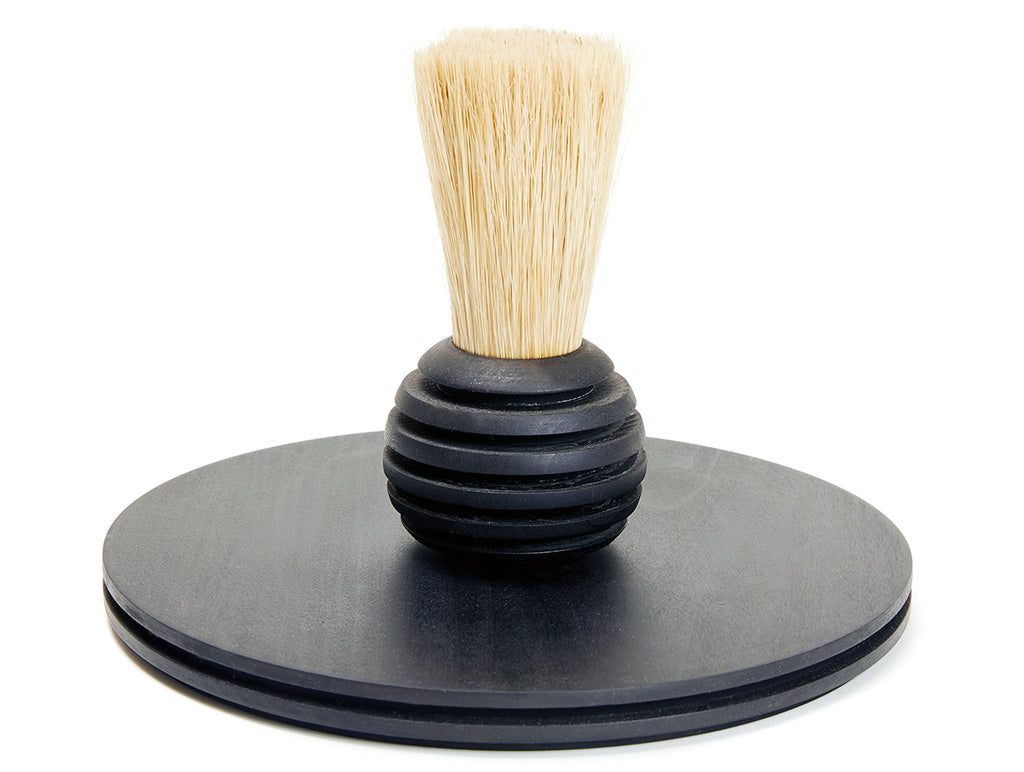 Rib Tray and Brush Set - Black
