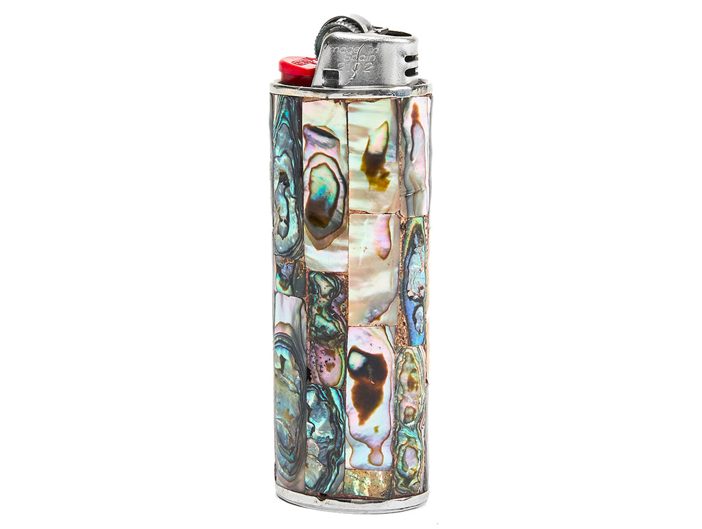 Vintage Abalone Lighter Cover