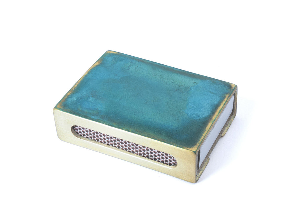 Patina Matchbox Case