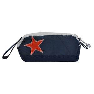 California Bear Dopp Kit - Boyd Sailcloth - Recycled Sailcloth Bag